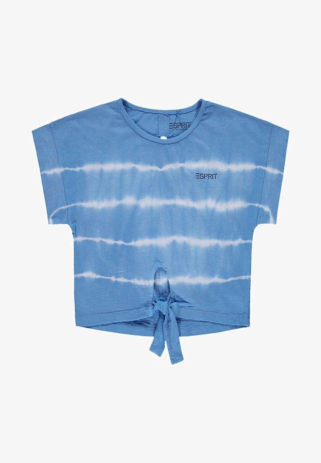 FASHION - T-shirt print - light blue lavender