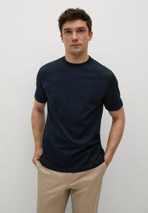 Camiseta básica - bleu marine