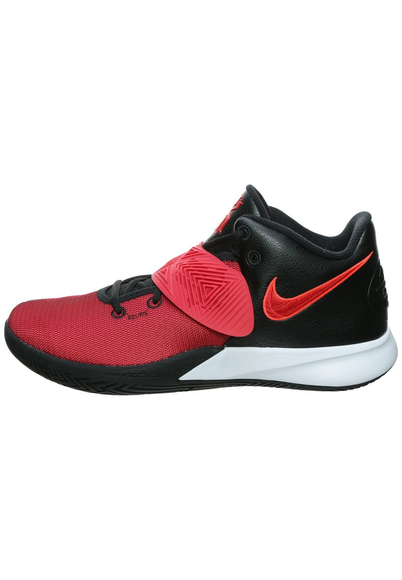 Nike Performance - KYRIE FLYTRAP III - Basketball shoes - black/university red /bright crimson