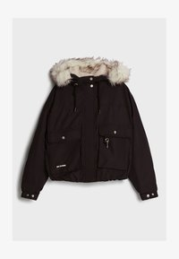 Bershka - Winterjacke - black - 4