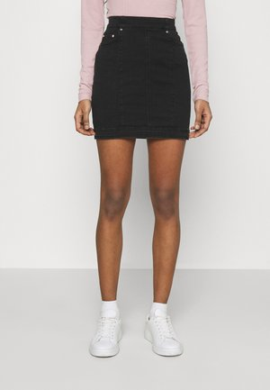 ONLCARMEN MINI - Minihame - black denim
