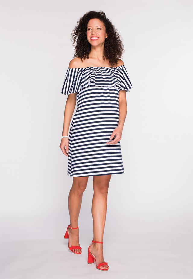 Jersey dress - striped