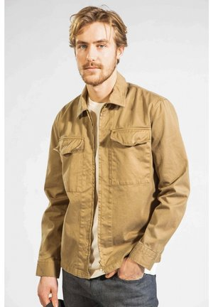Shirt - sepia brown