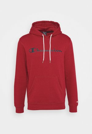 LEGACY HOODED - Mikina s kapucí - dark red