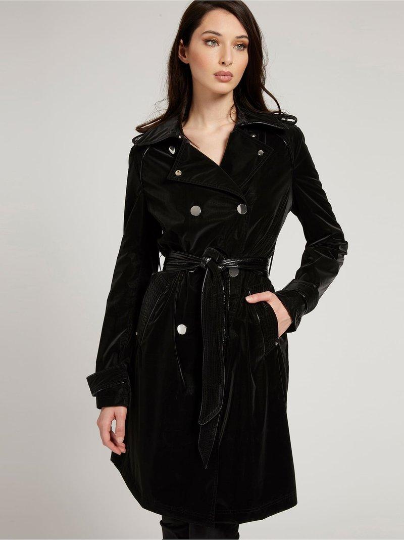 Guess - Trenchcoat - schwarz