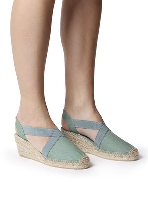 TER - Wedge sandals - mint
