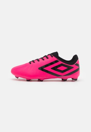 VELOCITA VI CLUB FG - Moulded stud football boots - pink peacock/black/white