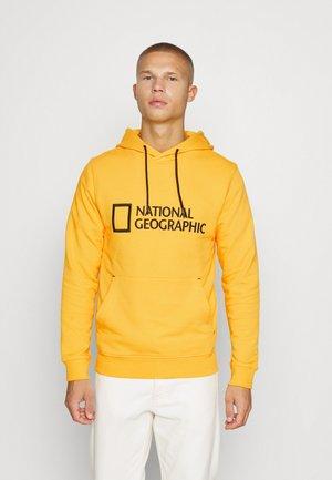 HOODY WITH BIG LOGO - Sweatshirt - lemon chrome