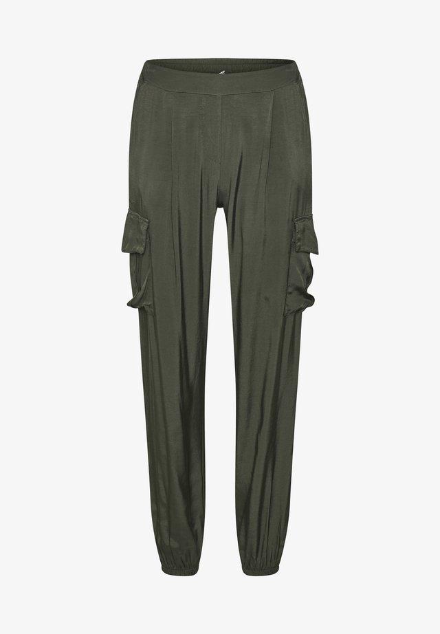 Pantalones - burnt olive