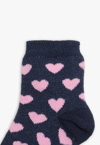 Ewers - HERZEN PUNKTE 6 PACK - Ponožky - tinte/altrosa - 4