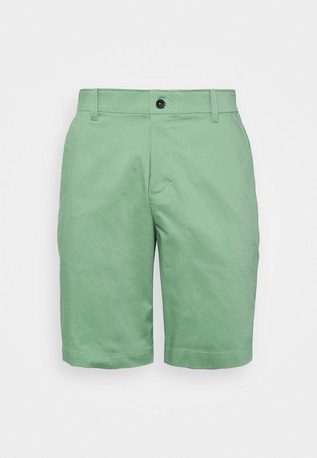 Sports shorts - healing jade