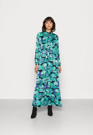 LONG DRESS - Maxi dress - black/deep teal