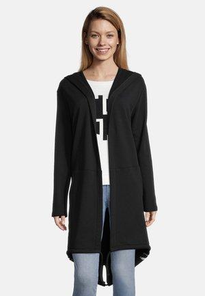 MIT KAPUZE - veste en sweat zippée - schwarz