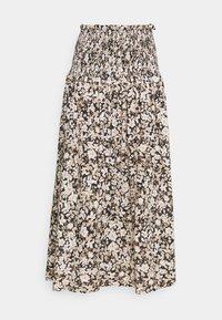 Bec & Bridge - FORBIDDEN FORREST SKIRT - Maxi skirt - black/pink - 3