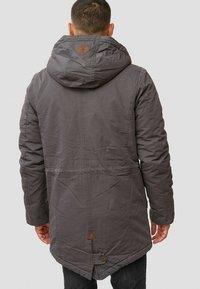 INDICODE JEANS - Winter coat - dark grey - 2