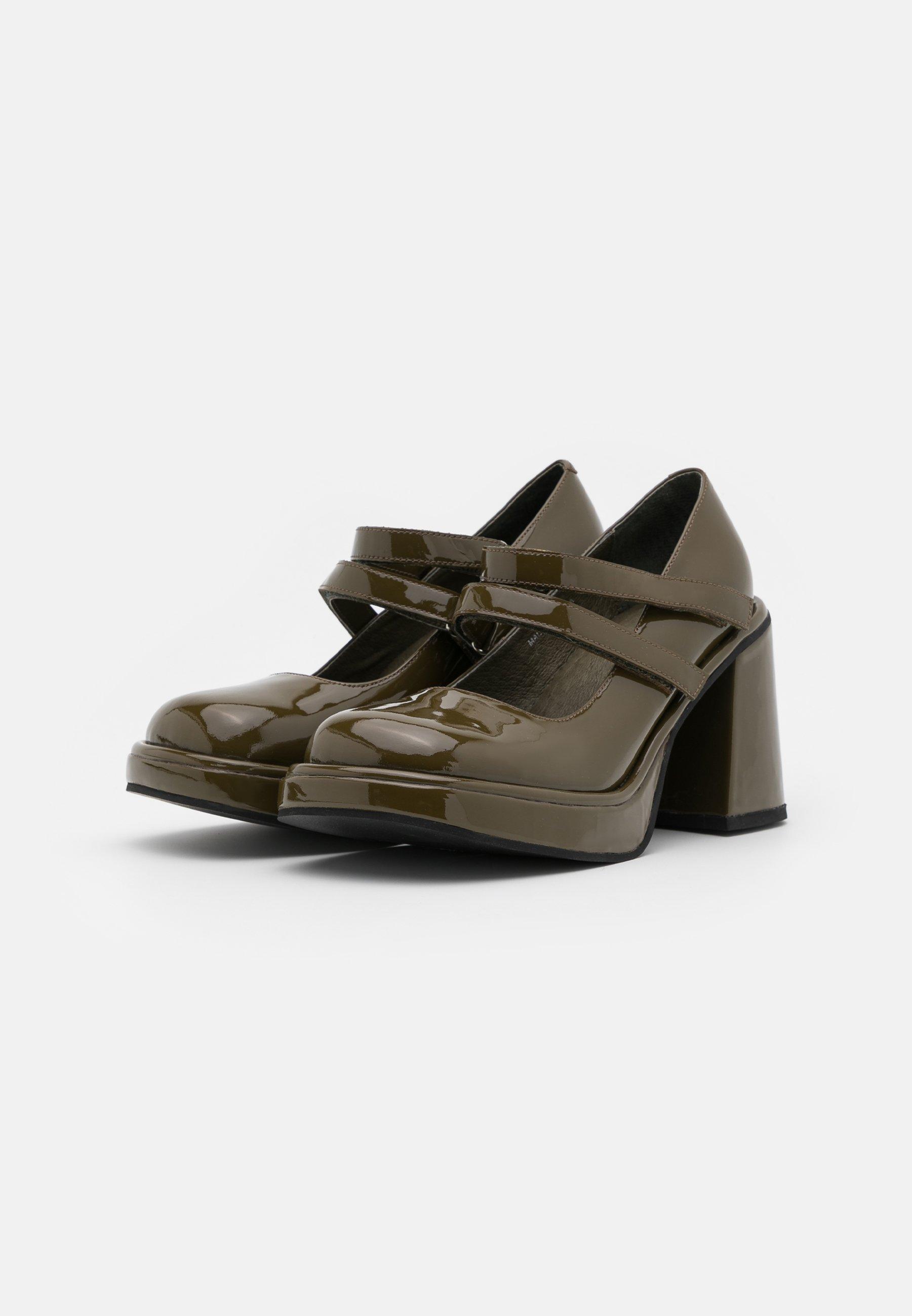 Jeffrey Campbell ARLON High Heel Pumps khaki/grün