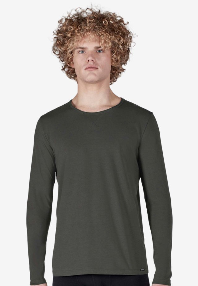 SLOUNGEWEAR  - Long sleeved top - grey