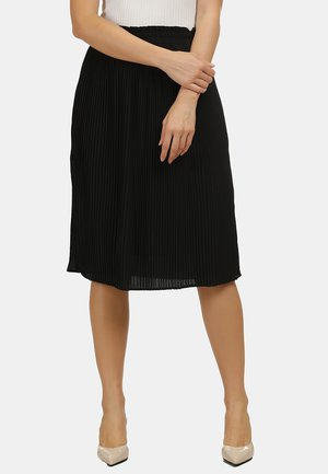 ROCK - A-line skirt - schwarz