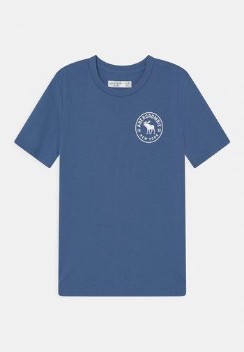 BACKHIT PRINT LOGO - T-shirts print - blue