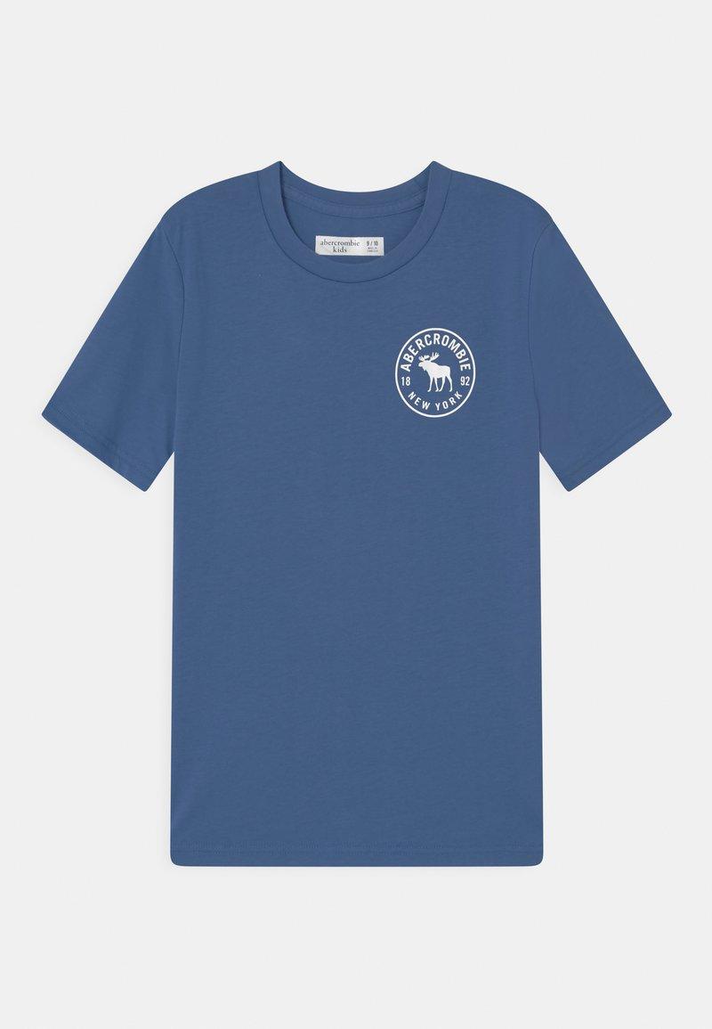 Abercrombie & Fitch - BACKHIT PRINT LOGO - Print T-shirt - blue