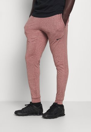 DRY PANT - Tracksuit bottoms - claystone red/black
