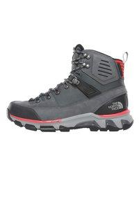 The North Face - M CRESTVALE FUTURELIGHT - Hiking shoes - zinc grey/tnf black - 0
