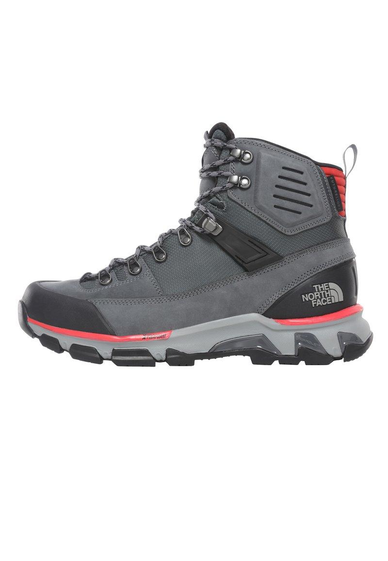 The North Face - M CRESTVALE FUTURELIGHT - Hiking shoes - zinc grey/tnf black