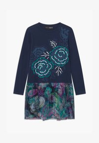 Desigual - CHIHUAHUA - Jersey dress - blue - 0