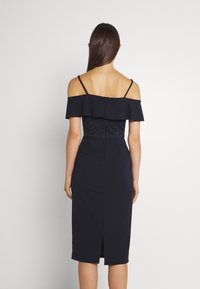 WAL G. - EMAAN MIDI DRESS - Cocktail dress / Party dress - navy blue - 2