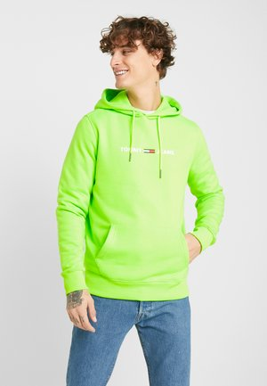 NEON SMALL LOGO HOODIE - Sweat à capuche - green geco
