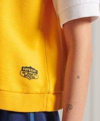 Superdry - COLLEGIATE - Print T-shirt - utah gold - 1