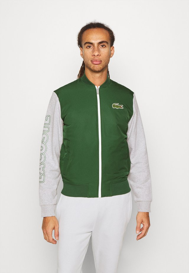 JACKET - Giacca sportiva - green/silver