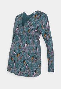 MAMALICIOUS - NURSING - Bluzka z długim rękawem - mallard blue - 4