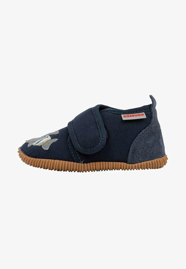 Sneakers laag - dk.blau
