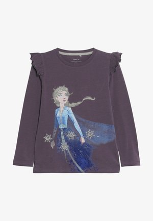DISNEY FROZEN ELSA - Camiseta de manga larga - black plum