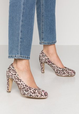 Zapatos altos - rose antik