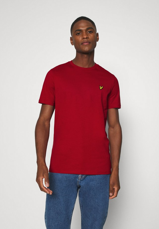 T-shirt - bas - chilli pepper red