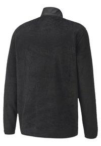 Puma Golf - SHERPA ZIP - Fleece jumper - black - 4