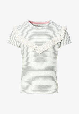 Print T-shirt - silver pine