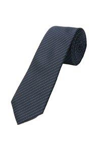 s.Oliver BLACK LABEL - Bow tie - dark blue jacquard - 2