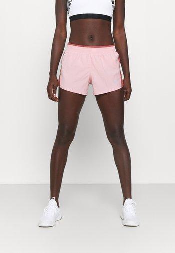 10K SHORT - Pantalón corto de deporte - pink glaze/canyon rust/wolf grey