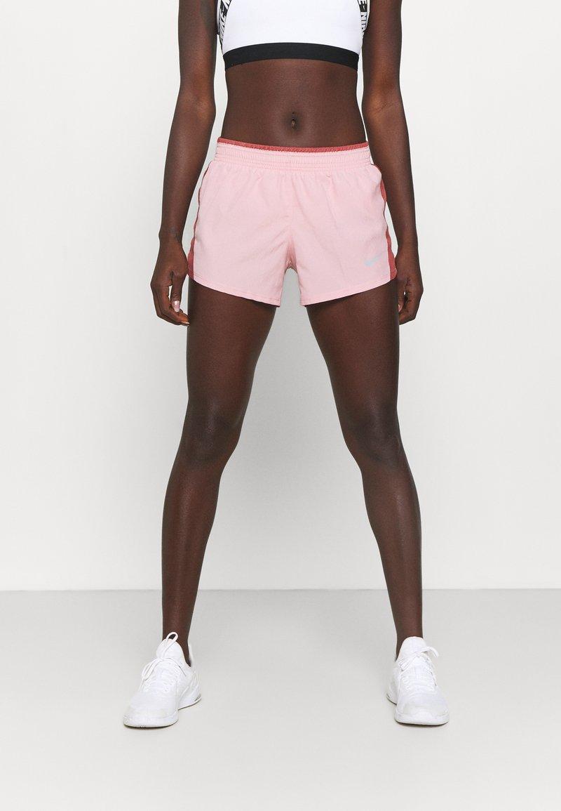 Nike Performance - 10K SHORT - Sports shorts - pink glaze/canyon rust/wolf grey
