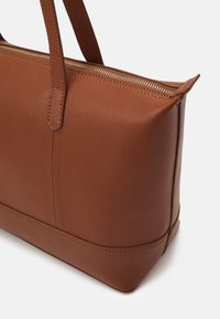 Zign - LEATHER - Tote bag - cognac - 3