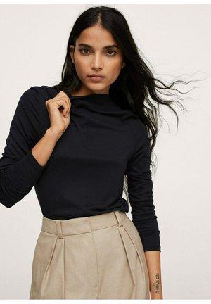 T-shirt à manches longues - zwart