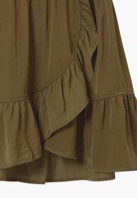 Rosemunde - Wrap skirt - military olive - 2