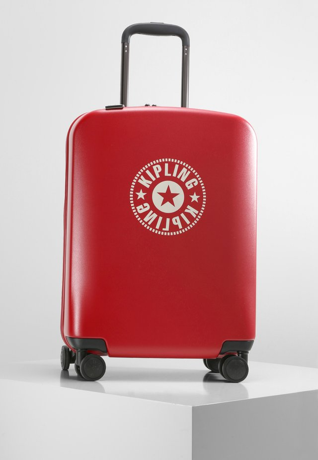 Wheeled suitcase - lively red