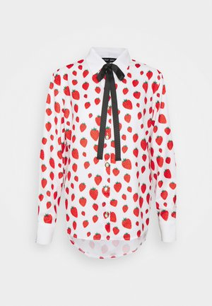 STRAWBERRY COURT BOW SHIRT - Košile - red