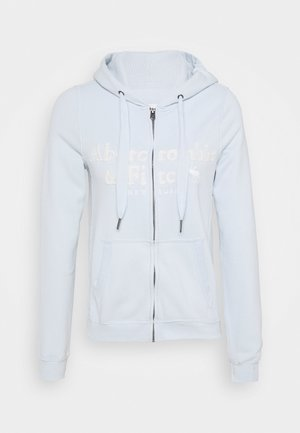 LONG LIFE FULL ZIP - Mikina na zip - light blue