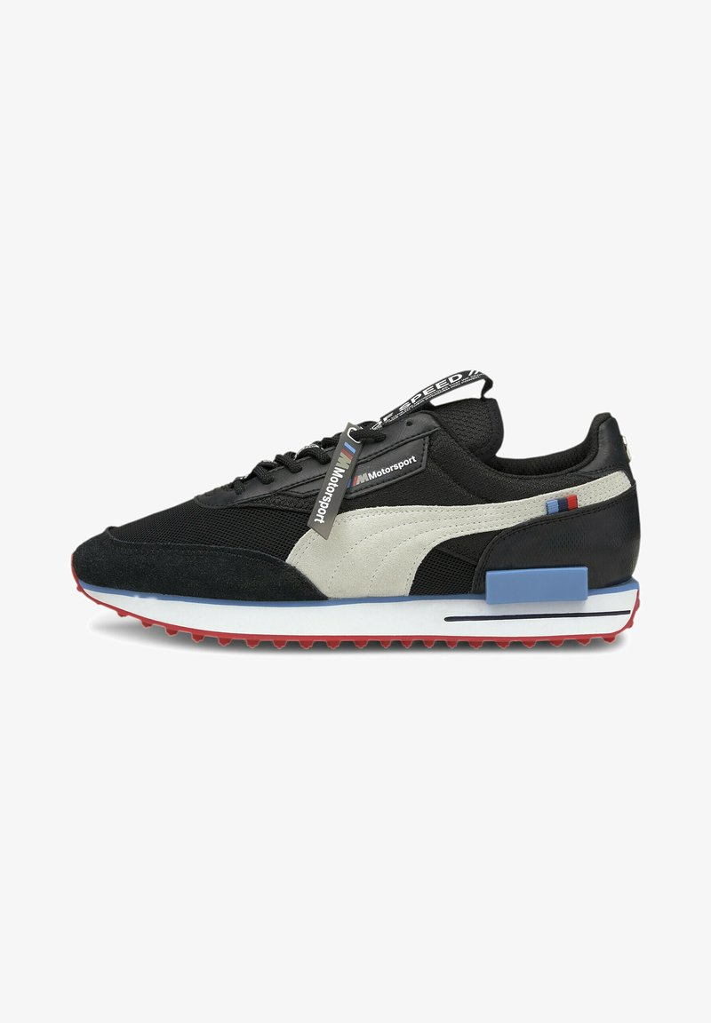 Puma - Trainers - p black-p white-highrisk red