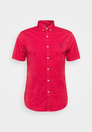 Shirt - sunrise red